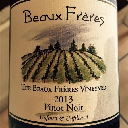 Beaux Frères The Beaux Frères Vineyard Pinot Noir 2013