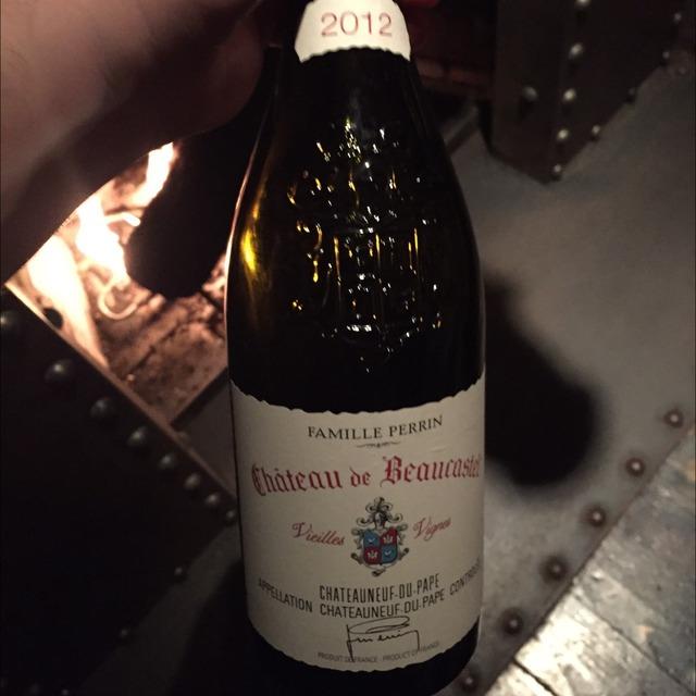 Vieilles Vignes Châteauneuf-du-Pape Roussanne 2012