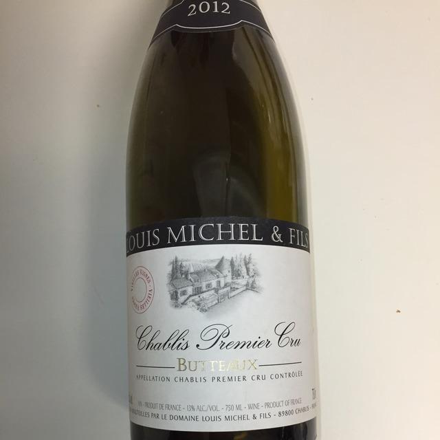 Butteaux Chablis 1er Cru Chardonnay 2012