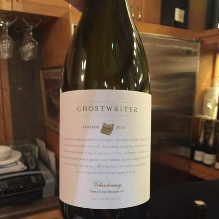 Ghostwriter Santa Cruz Mountains Chardonnay 2015