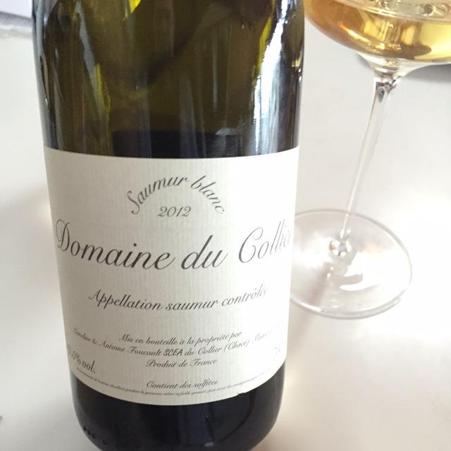 Saumur Blanc Chenin Blanc  2012