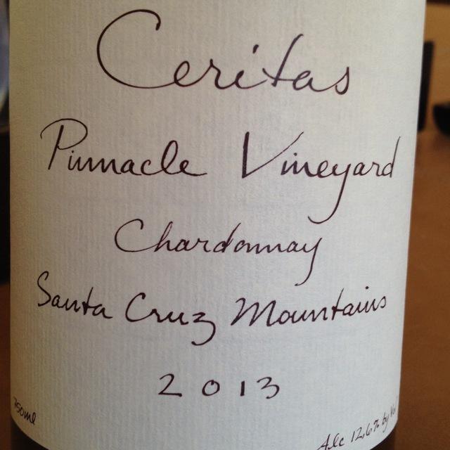 Pinnacle Vineyard Chardonnay 2013