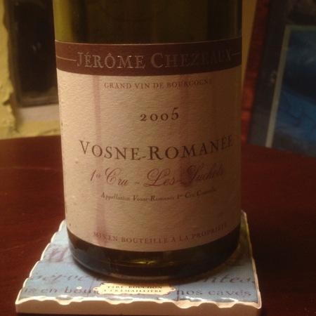 Jérôme Chezeaux Les Suchots Vosne-Romanée 1er Cru Pinot Noir 2005