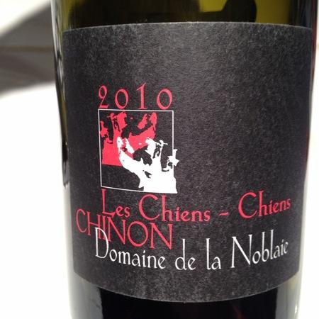 Domaine de la Noblaie Les Chiens-Chiens Chinon Cabernet Franc 2010