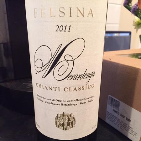 Fattoria di Fèlsina Berardenga Chianti Classico Sangiovese Blend 2013