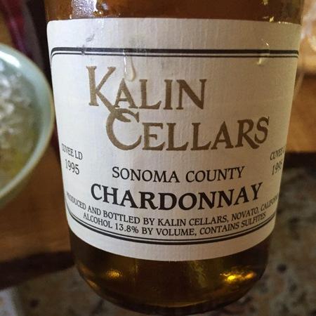 Kalin Cellars Cuvée LD Sonoma County Chardonnay 1995