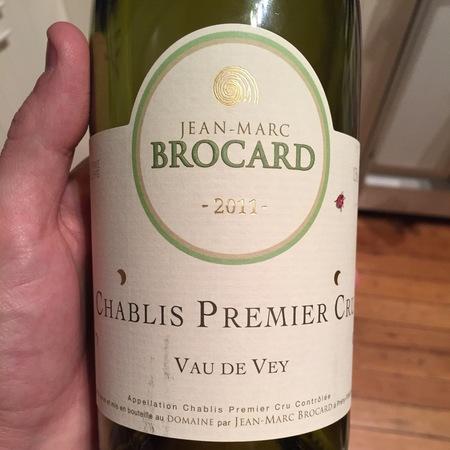 Jean-Marc Brocard Vau de Vey Chablis 1er Cru Chardonnay 2014