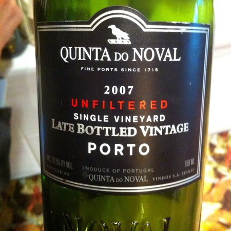 Quinta do Noval Single Vineyard Late Bottled Vintage Unfiltered Porto 2011