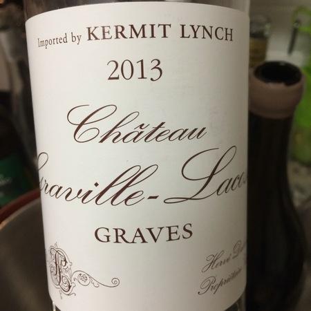 Château Graville-Lacoste Graves Sémillon-Sauvignon Blanc Blend 2016