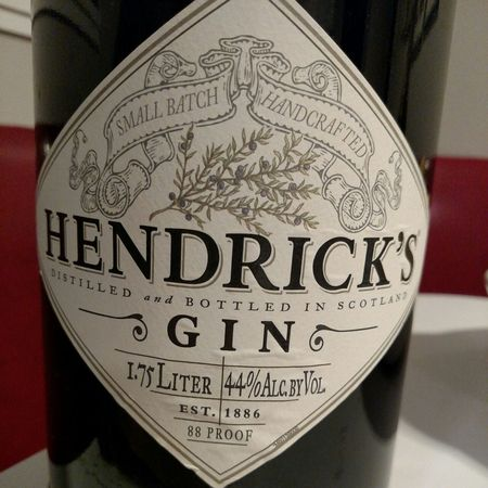 Hendrick's Small Batch Handcrafted Gin NV (1000ml)