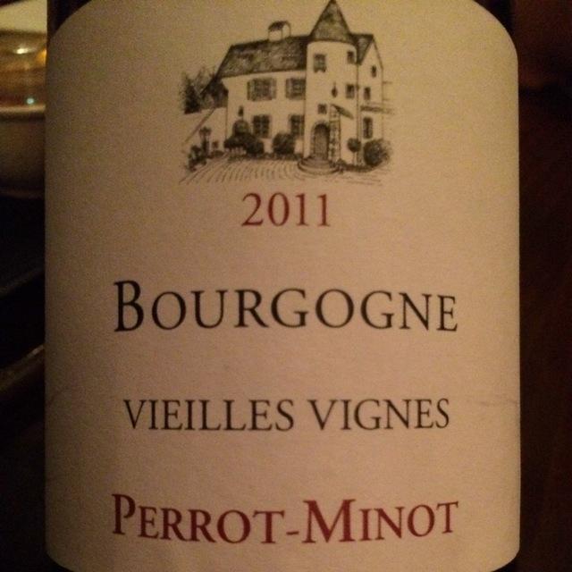 Vieilles Vignes Bourgogne Pinot Noir 2014