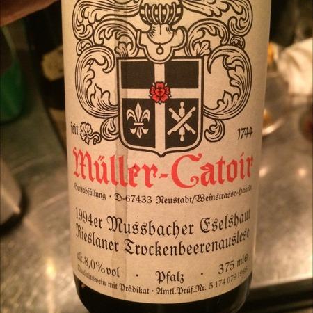 Müller-Catoir Mußbacher Eselshaut Trockenbeerenauslese Rieslaner 1994 (375ml)
