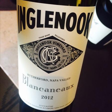 Inglenook / Rubicon Estate / Niebaum-Coppola Blancaneaux Rutherford Roussanne Blend 2012