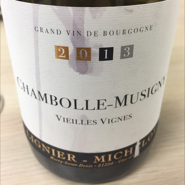 Vieilles Vignes Chambolle-Musigny Pinot Noir 2013