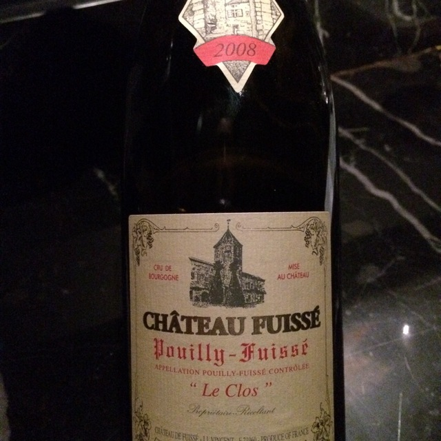 Le Clos Pouilly-Fuissé Chardonnay 2008