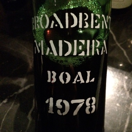 Broadbent Madeira Boal 1978