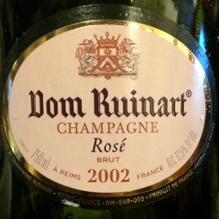 Ruinart Dom Ruinart Brut Rosé Champagne Blend 2002