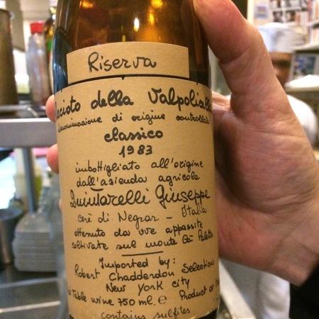 Giuseppe Quintarelli Riserva Recioto della Valpolicella Classico Corvina Blend 1990