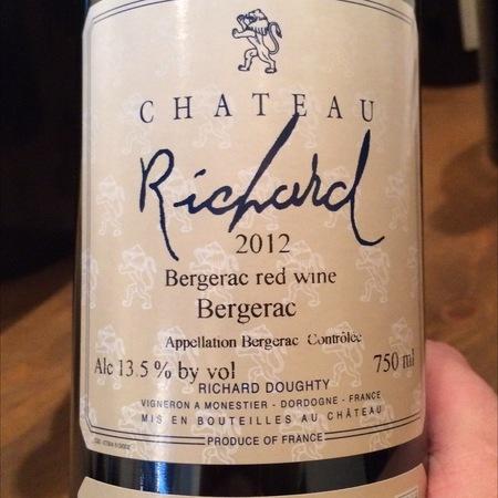 Château Richard Bergerac Rouge 2012