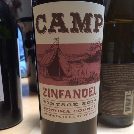 Hobo Wine Company Camp Sonoma County Zinfandel 2015