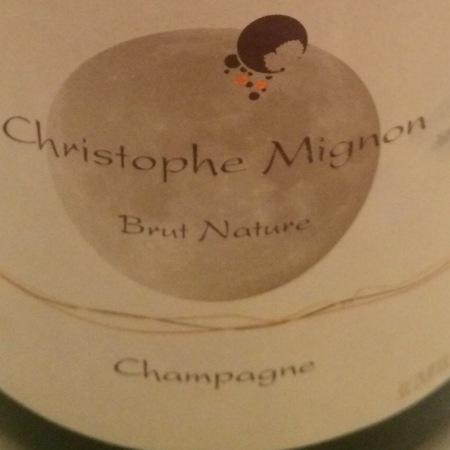 Christophe Mignon Brut Nature Champagne Pinot Meunier NV
