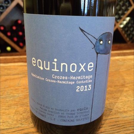 Equis Equinoxe Crozes-Hermitage Syrah 2015