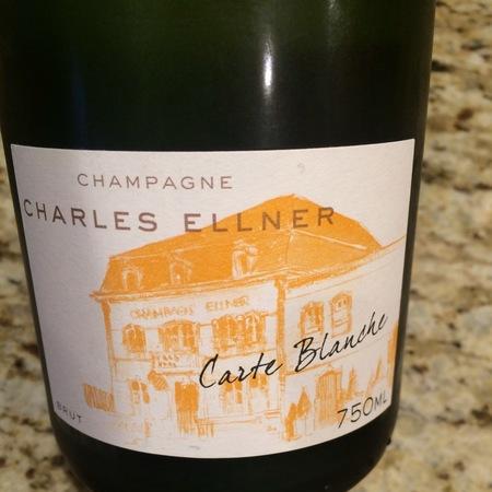 Charles Ellner Carte Blanche Brut Champagne Blend NV