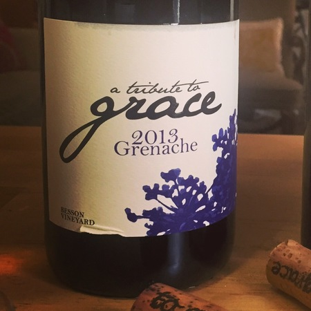 A Tribute to Grace Wines Besson Vineyard Grenache 2013