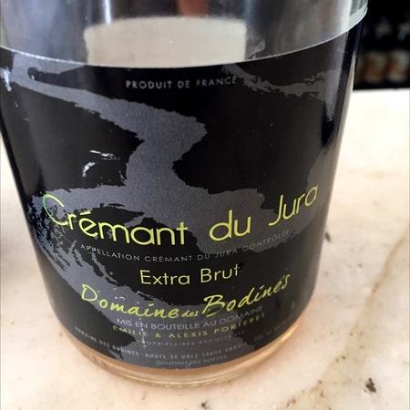 Domaine des Bodines Crémant du Jura Extra Brut Rosé Blend NV