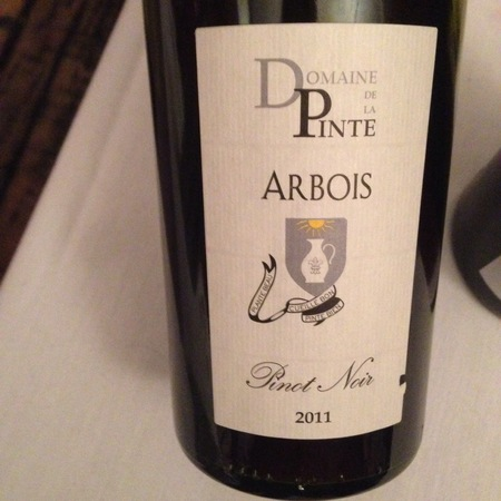 Domaine de la Pinte Arbois Pinot Noir 2011