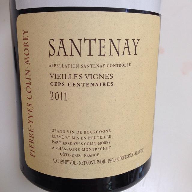 Vieilles Vignes Ceps Centenaires Santenay Pinot Noir 2014