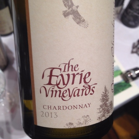 The Eyrie Vineyards  Estate Grown Willamette Valley Chardonnay 2013