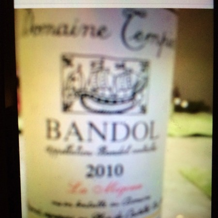 Domaine Tempier La Migoua Bandol Mourvedre Blend 2014