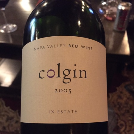 Colgin IX Estate Napa Valley Cabernet Sauvignon Blend 2005