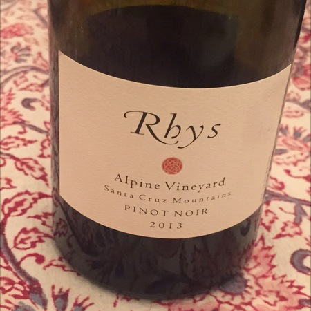 Rhys Alpine Vineyard Pinot Noir 2013