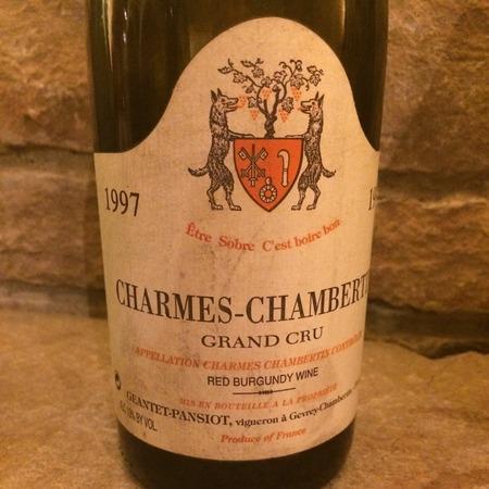 Geantet-Pansiot Charmes-Chambertin Grand Cru Pinot Noir 1997