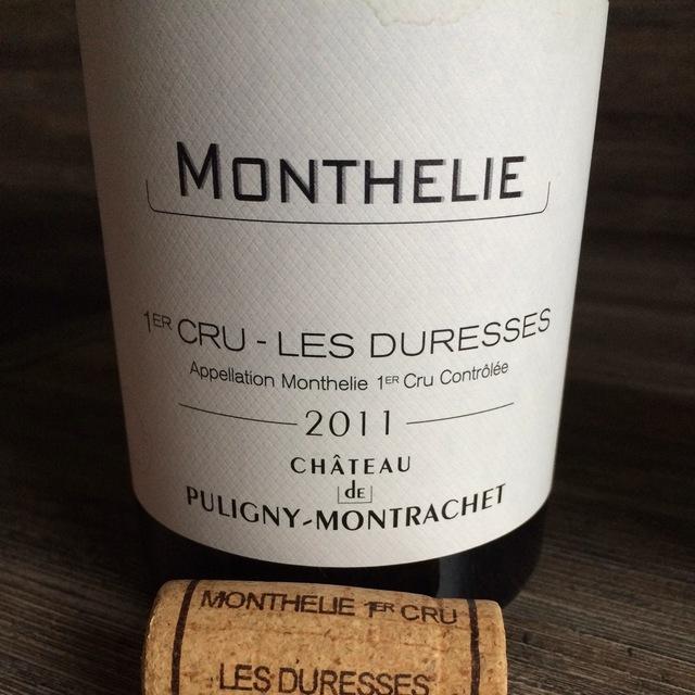 Les Poruzots Meursault 1er Cru Chardonnay 2011