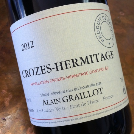 Alain Graillot Crozes-Hermitage Syrah 2015