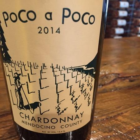 Poco a Poco Mendocino County Chardonnay 2015