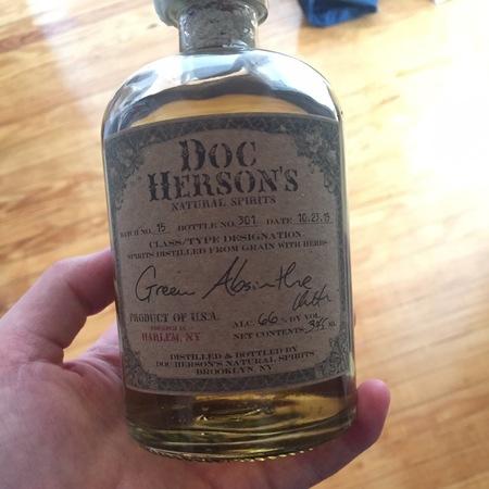 Doc Herson's Green Absinthe NV
