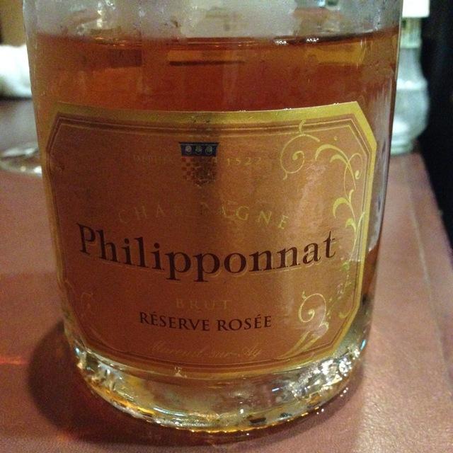 Brut Champagne Réserve Rosée NV
