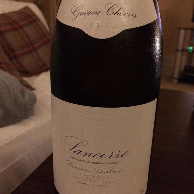 Guigne-Chèvres Sancerre Sauvignon Blanc 2014