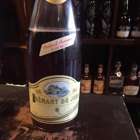 Domaine Pierre Richard Perles d'Automne Rosé Brut Crémant du Jura Pinot Noir NV