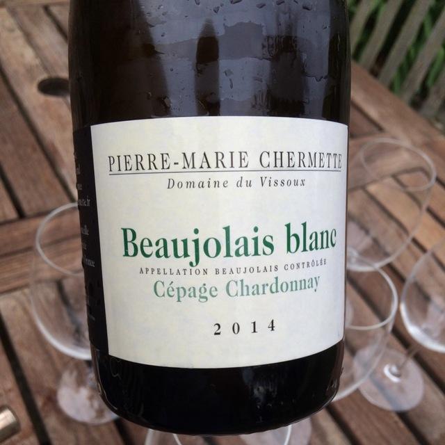 Beaujolais Blanc Cépage Chardonnay 2014