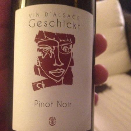 Geschickt Alsace Pinot Noir  2015