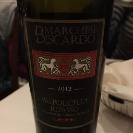 Marchesi Biscardo Valpolicella Ripasso Superiore Corvina Blend 2014