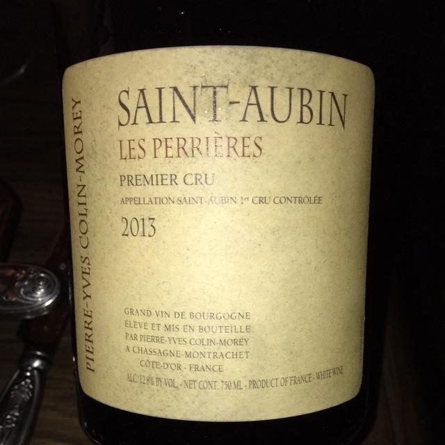 Les Perrières Meursault 1er Cru Chardonnay 2013