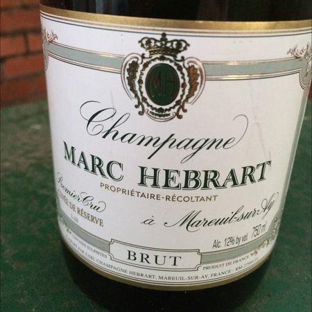Marc Hébrart Cuvée de Réserve Brut 1er Cru Champagne Blend 2017