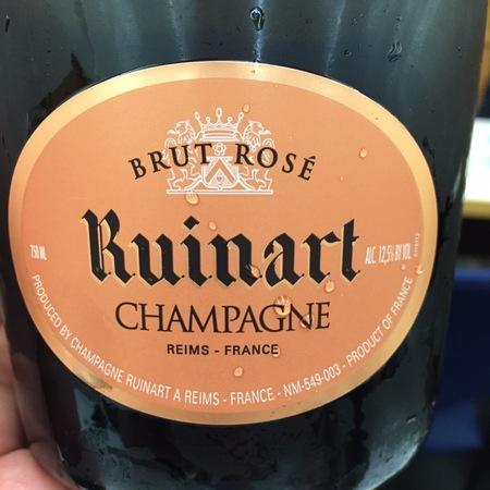 Ruinart Brut Champagne Pinot Noir Chardonnay Rosé NV