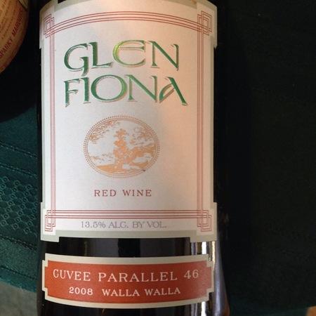 Glen Fiona Cuvée Parallel 46 Red Rhone Blend 2001